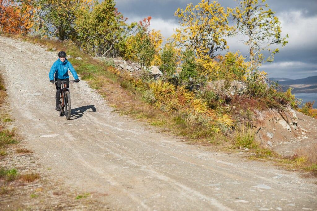 Tänndalen Fjällcykelpark downhill Wilda Nilsson