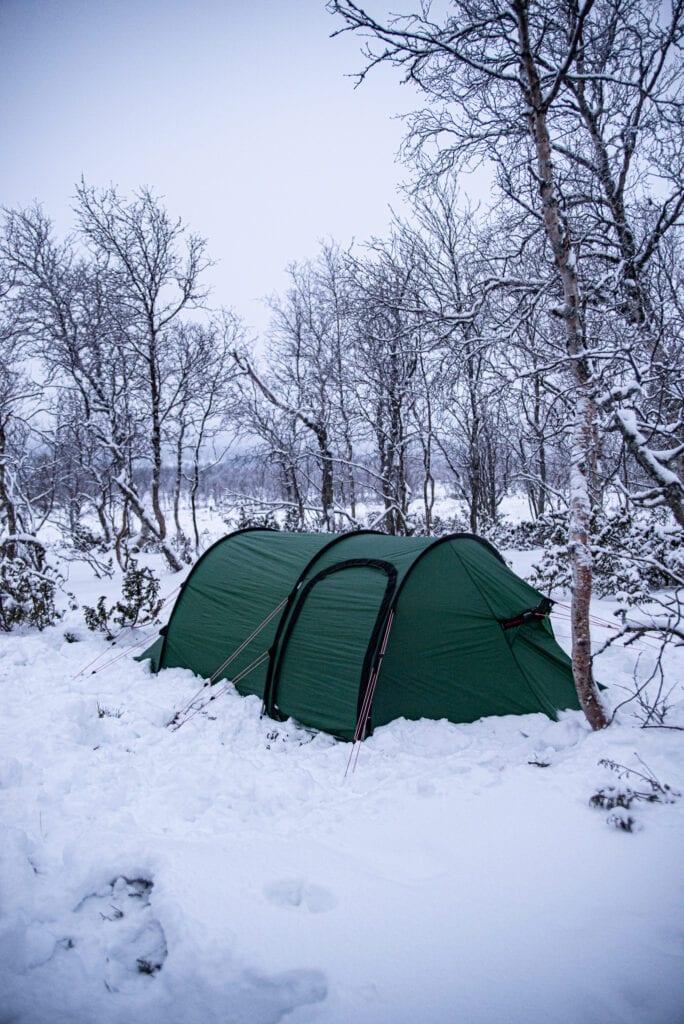 Vintertältning välj rätt tält