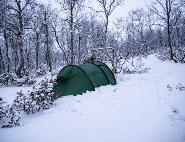 Tälta på vintern Hilleberg Nammatj GT