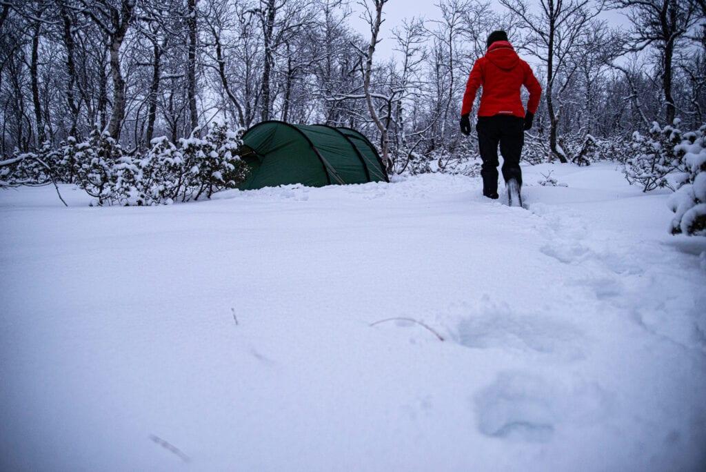 Att tälta på vintern - tips inför vintertältning