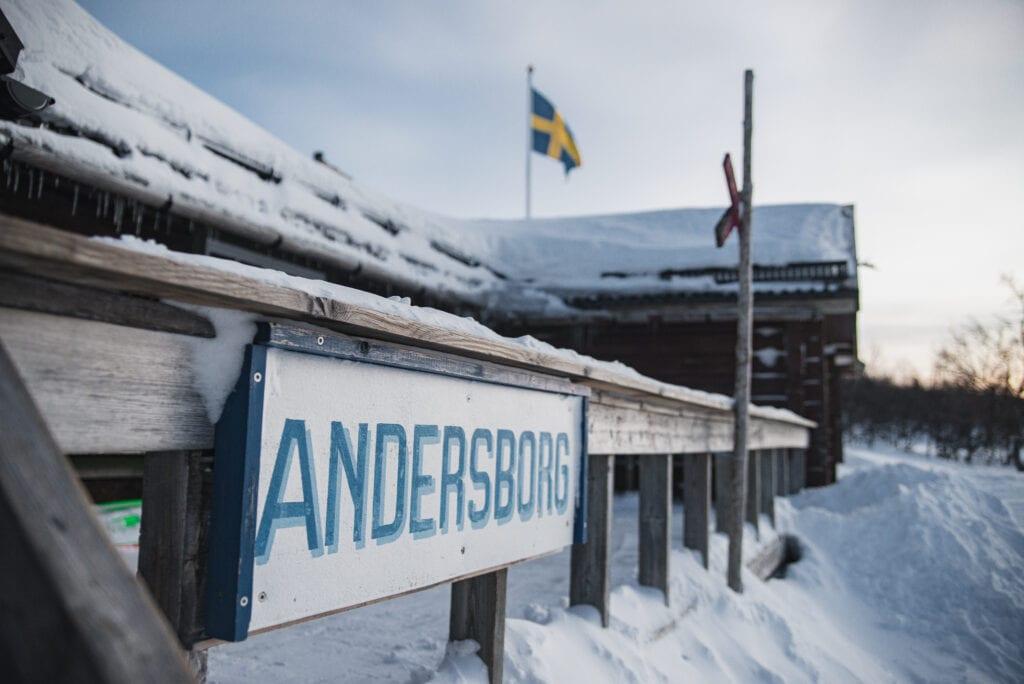 Andersborgs våffelstuga i Tänndalen gör goda våfflor