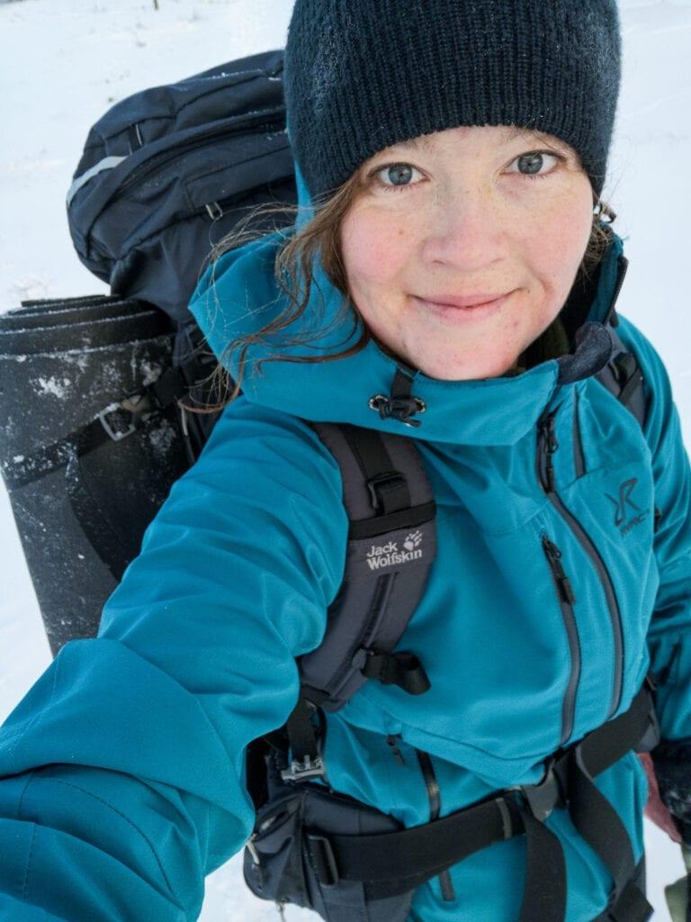 Wilda Nilsson vintervandring