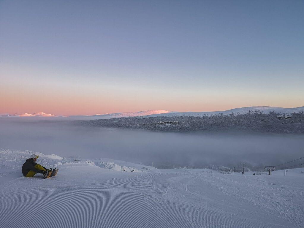 Snowboard i Tänndalen