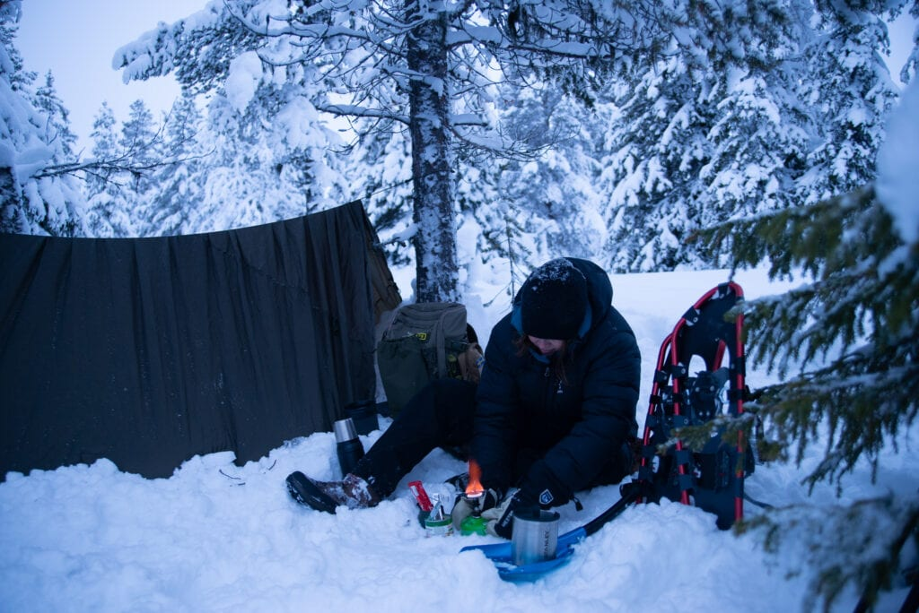 Friluftsliv på vintern