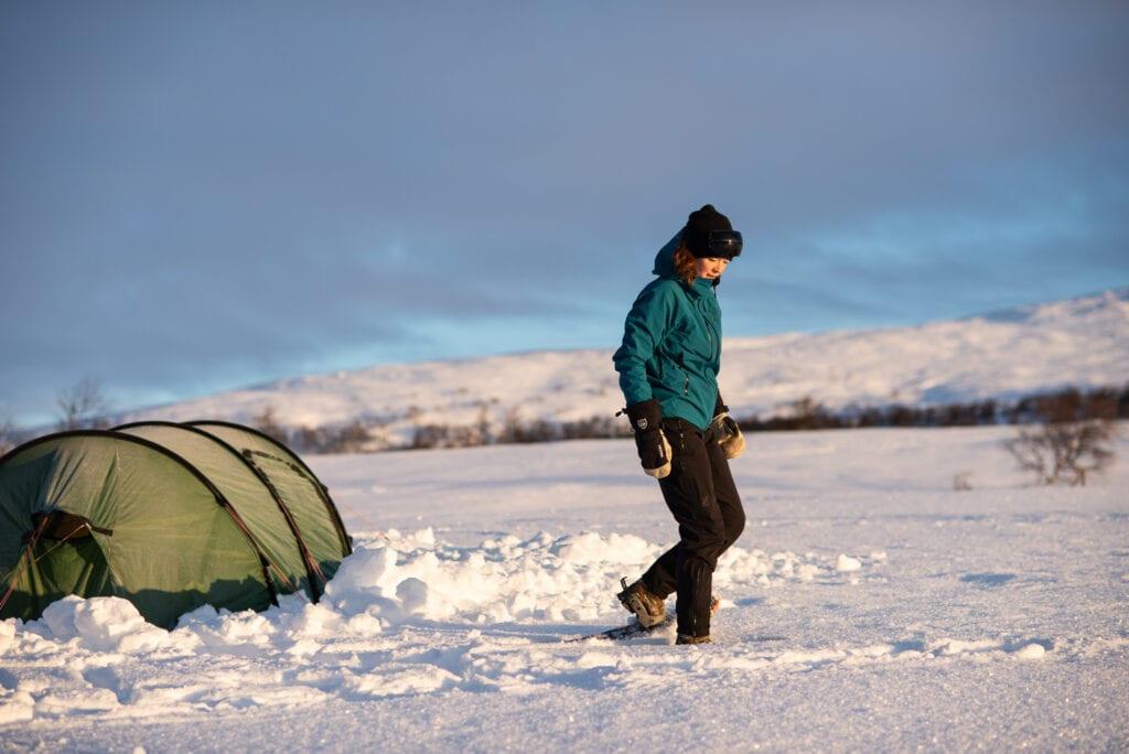 Snö sko vandring @outdoor_wilda