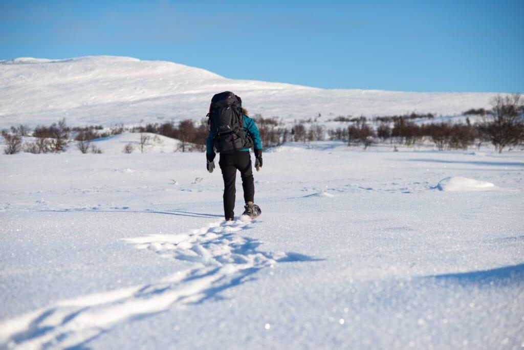 Vintervandring i bergen