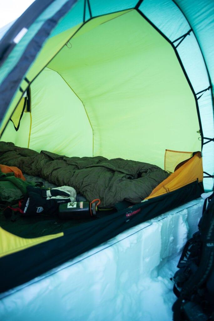 Vilken sovsäck på vintern - Carinthia Defence 6