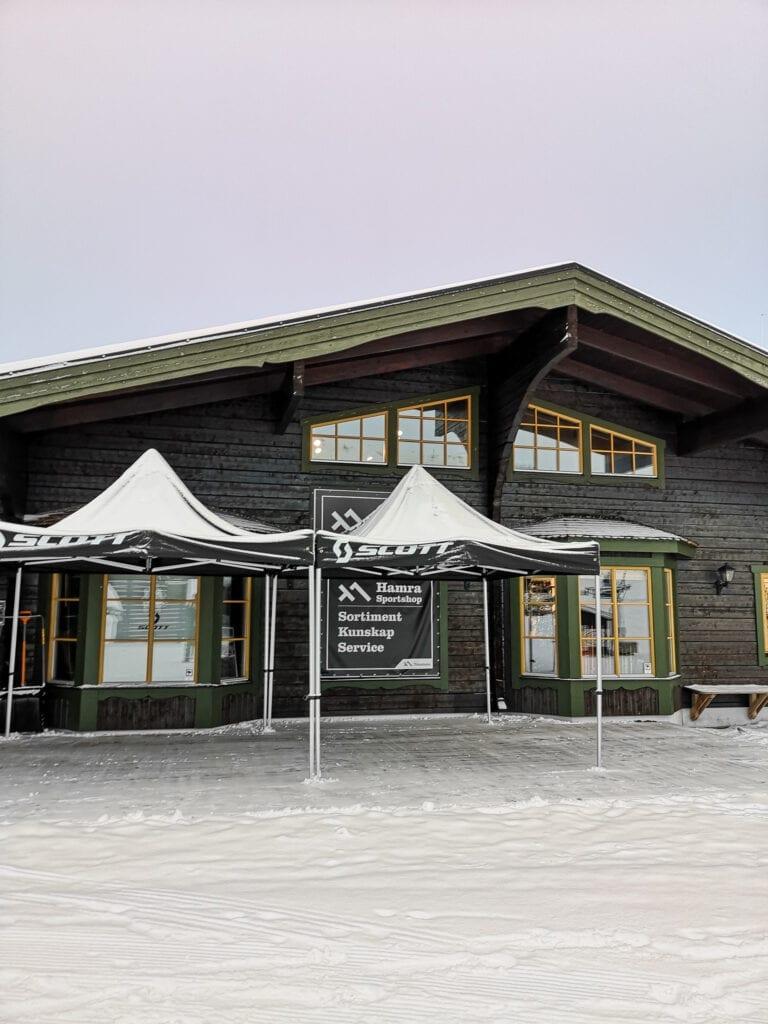 Hamra sportshop hyra skidor Tänndalen