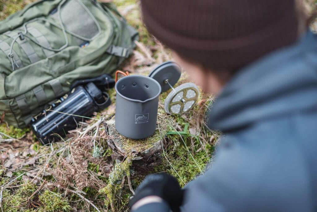 Kaffepress från Helikon-tex