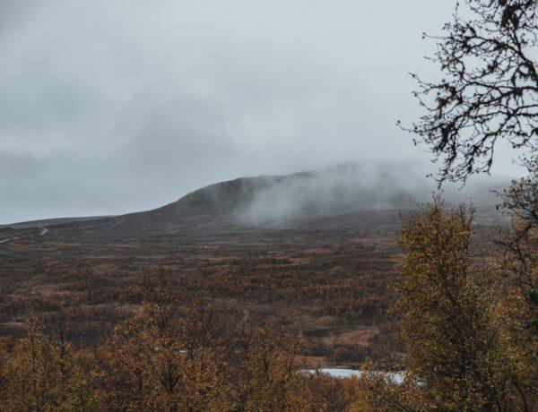 Svansjökläppen i Härjedalen på hösten