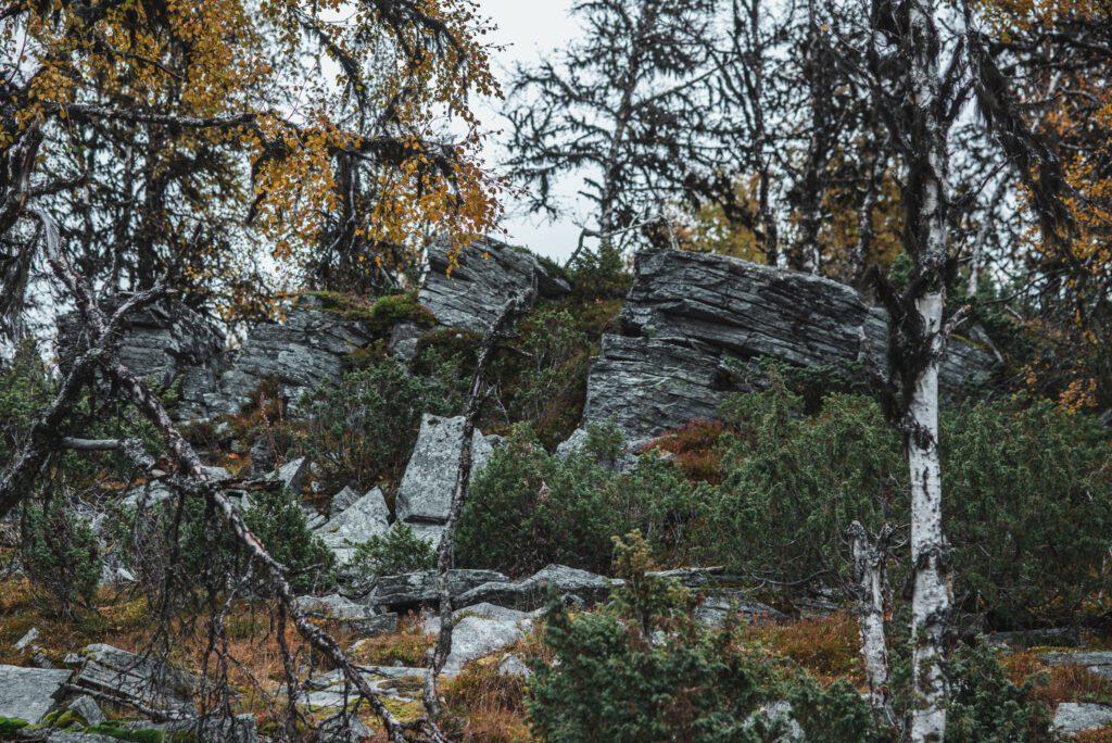 Klippor i Funäsfjällen, Härjedalen