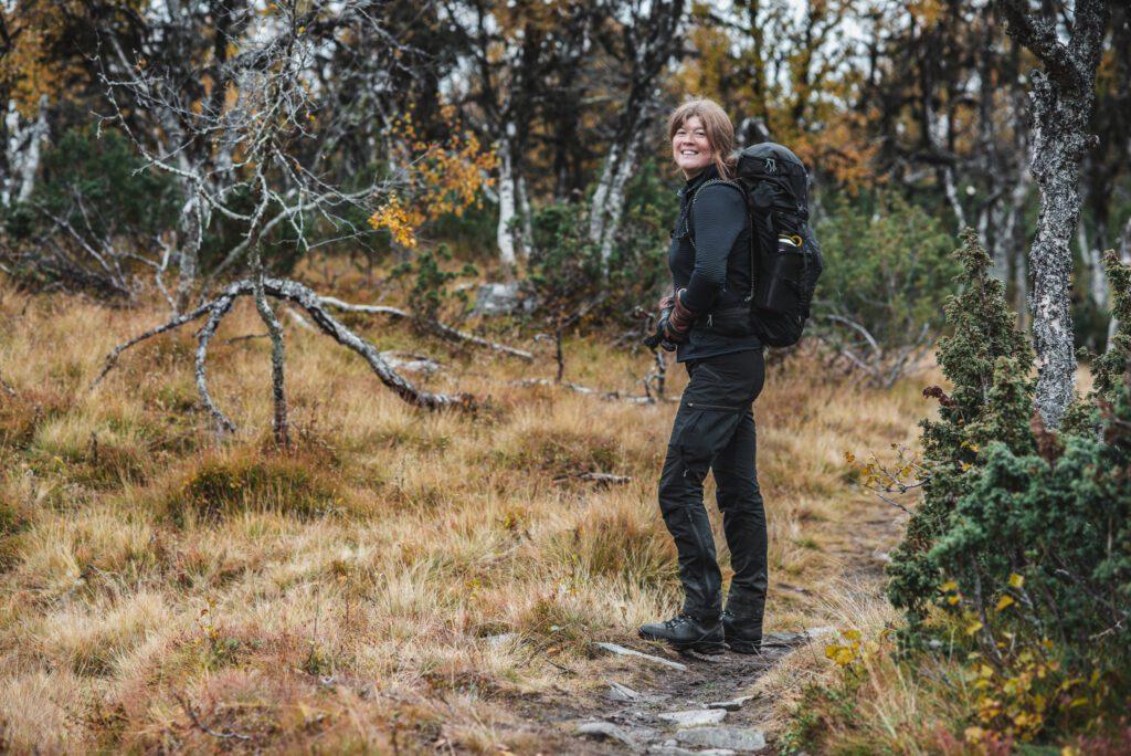 Wilda Nilsson fjällvandring i Funäsfjällen i Härjedalen