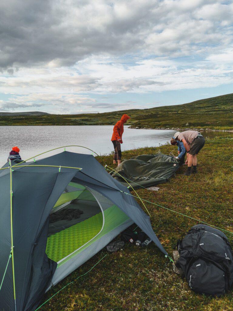 Välj rätt plats för tältet