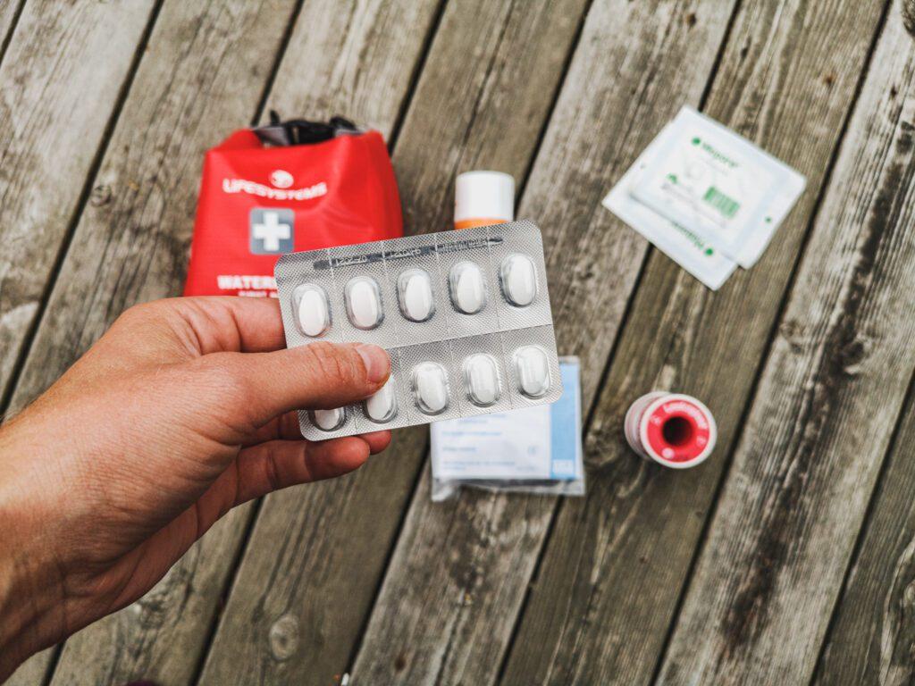 Receptfria smärtstillande tabletter