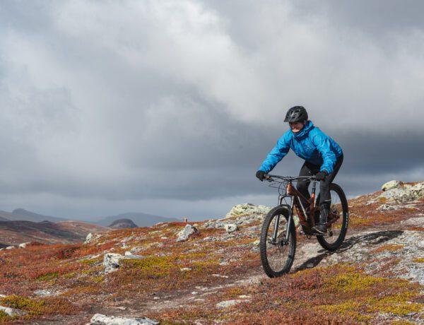 Cykling i fjället på MTB